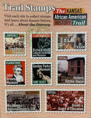 Kansas African American History Trail Stamp Card