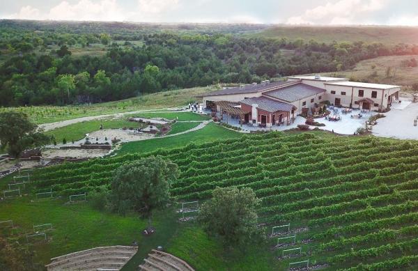 Liquid Art Winery and Estate aerial