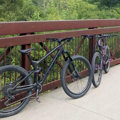 Bikes at Caddo trail