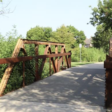 Bridge at Cottonwood Creek