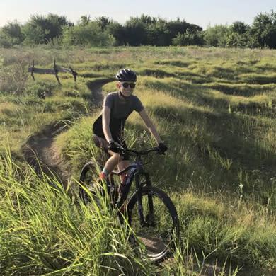 Stevie at Frisco MTB Trail