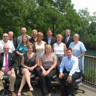 Group picture of the Chamber's Board of Directors