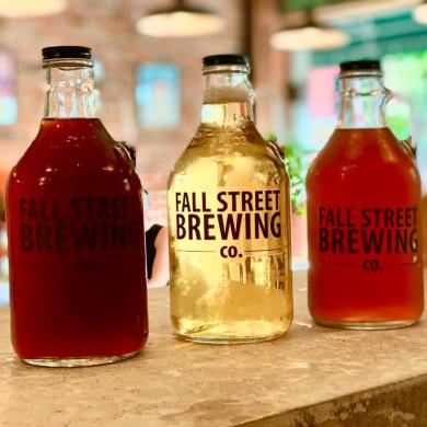 Fall Street Brewing Kombucha