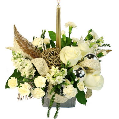 Finger Lakes Florist Holiday Centerpiece