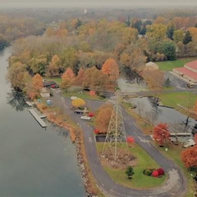 Aerial Tour Oak Island
