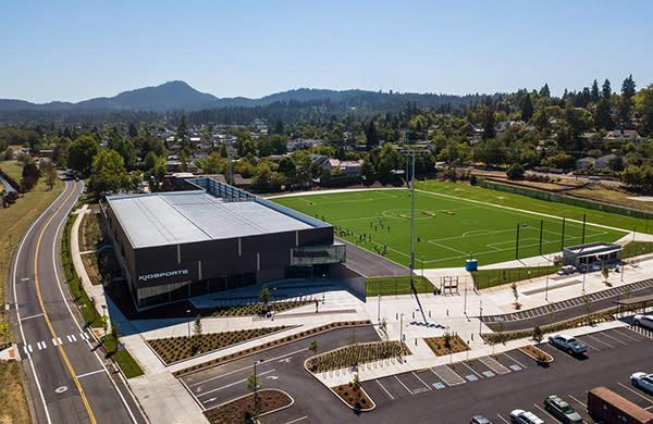 Civic Park Aerial