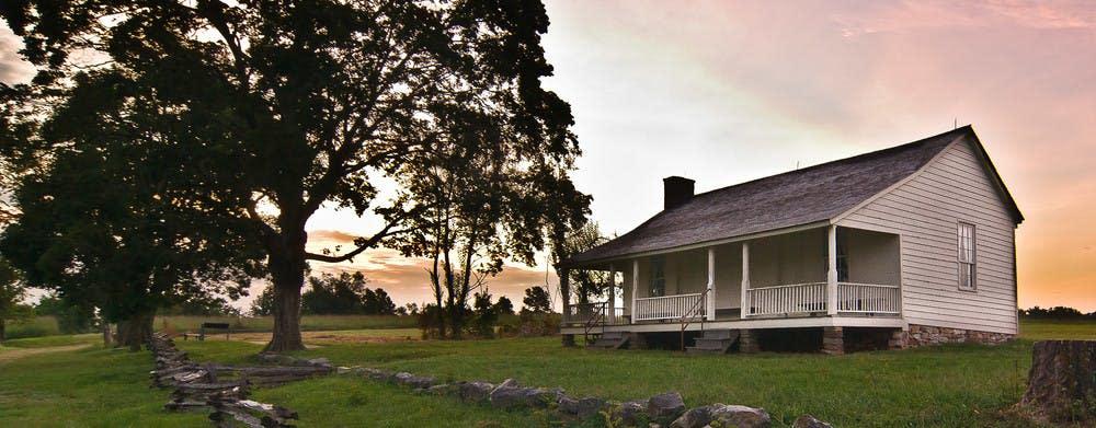 Wilson's Creek National Battlefield Ray-house
