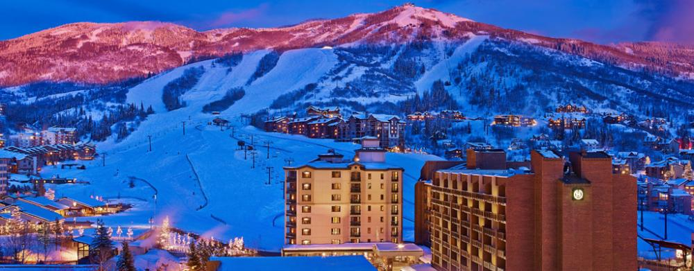 Steamboat Group Lodging Winter