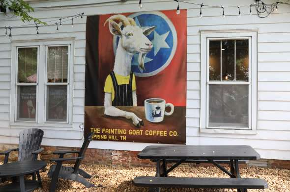 The Fainting Goat Coffee Shop