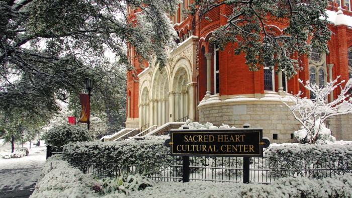 Sacred Heart Snow