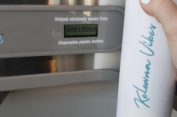 Kelowna Vibes Water Bottle / Filling Station