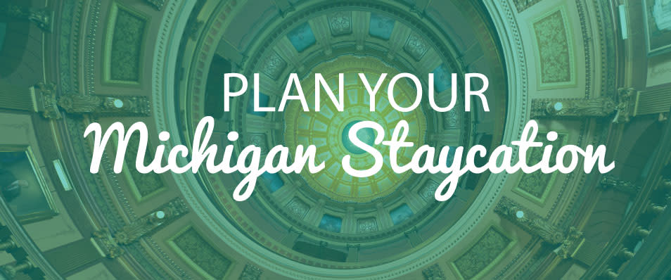 Plan Your Michigan Staycation Blog Header