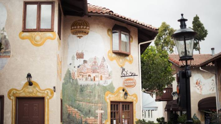 677dbdd20b2 A charming Bavarian utopia inhabited by unique eateries and shops, Old  World Village has been settled in Huntington Beach for more than 40 years  and is home ...