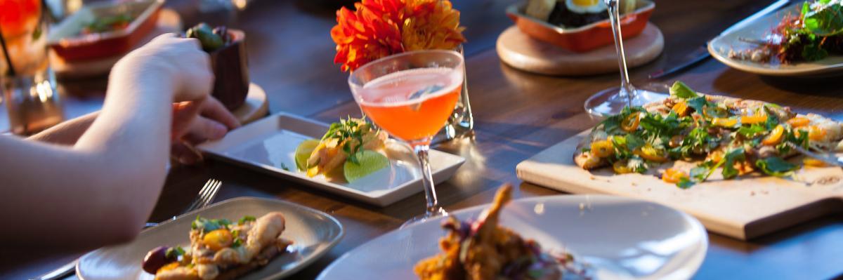 Blue Hound Kitchen and Cocktails - Header