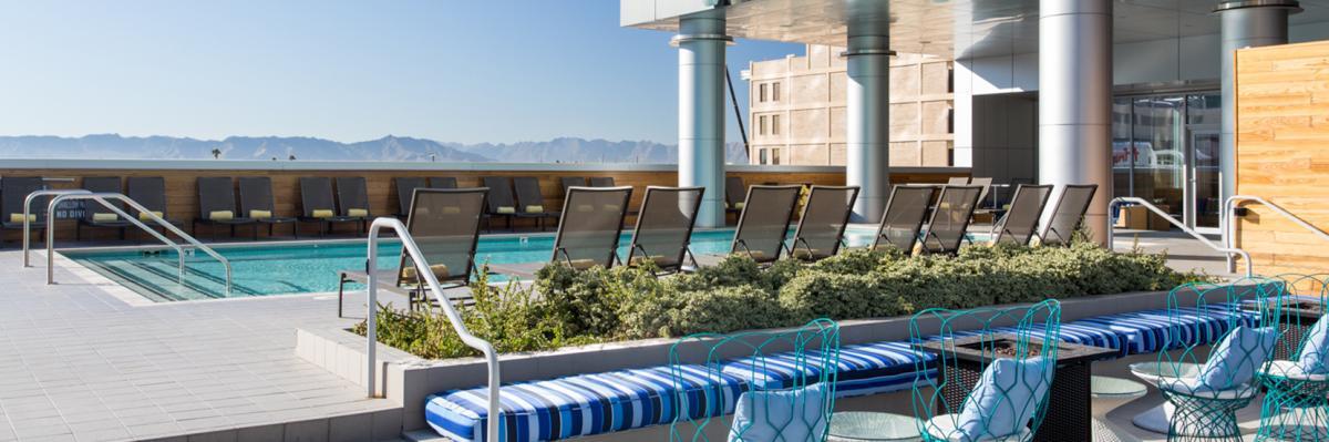 Lustre Hotel Swimming Pool In Phoenix, AZ