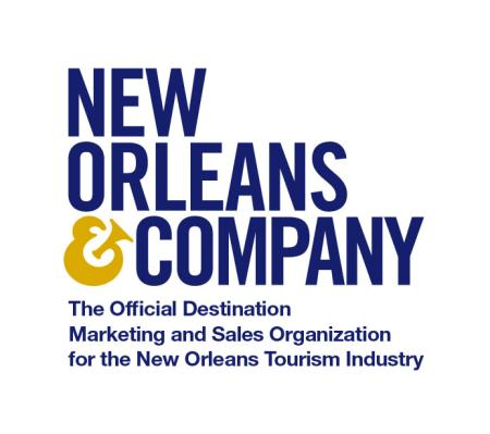 New Orleans & Company Logo Stacked 2 Color - DMO Sales Tag