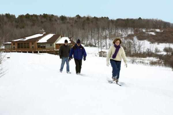Snowshoeing at Tanglewood Nature Center