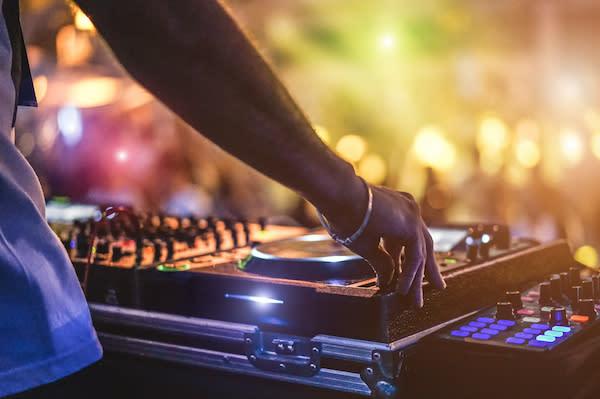 Adobe Stock image - DJ Performing