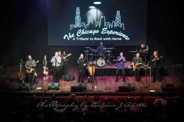 The Chicago Experience will perform at Cedar Creek on August 28. Photo credit: Luciano J Bilotti.