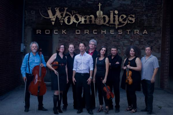 The Woomblies Rock Orchestra will perform on Sept. 18 at Cedar Creek Winery.