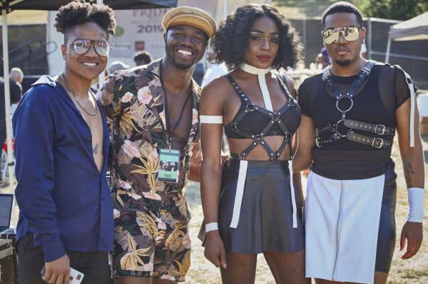 Oakland Black Pride Photo of Four People