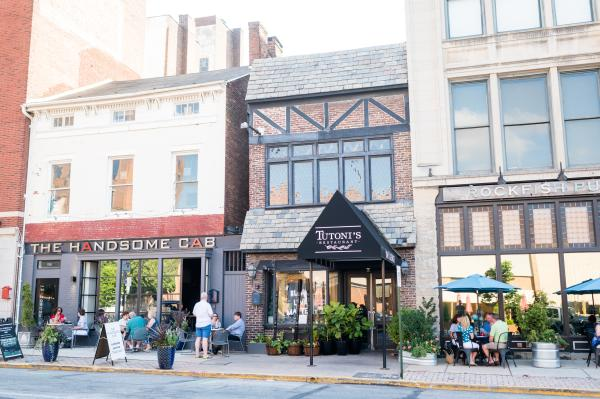 Outdoor Dining on Restaurant Row In York, PA
