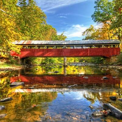 3rd Place - Rusty Glessner, Lower Humbert Bridge, Somerset County