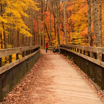 Charlotte Pletcher, Laurel Highlands Hiking Trail, Ohiopyle