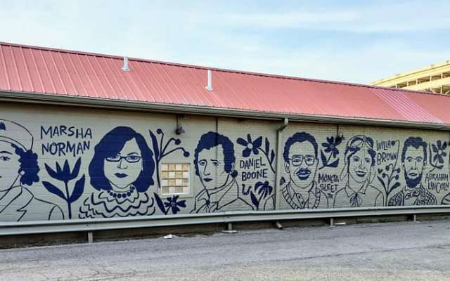 Famous Kentuckians Mural