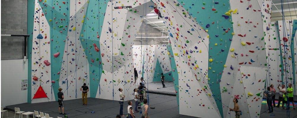 Zenith Climbing Center. Photo courtesy of Zenith Climbing Center.