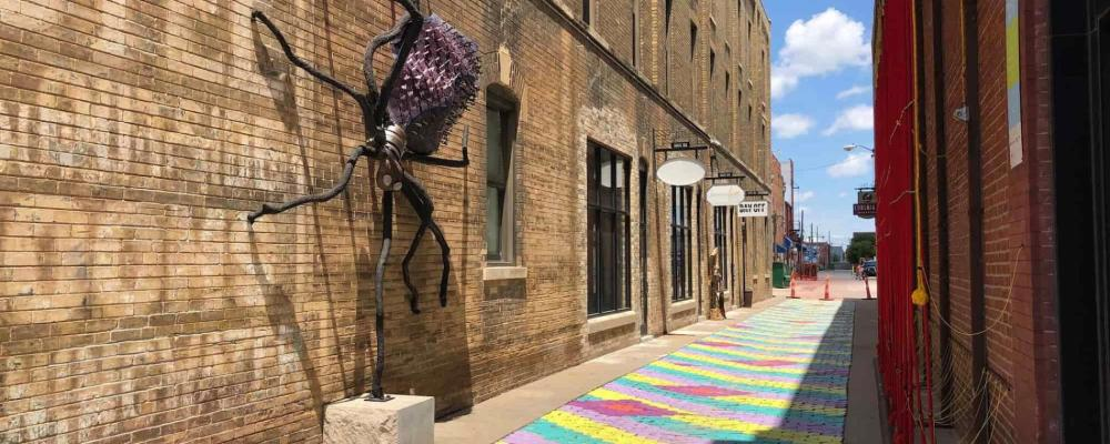 Gallery Alley in Wichita
