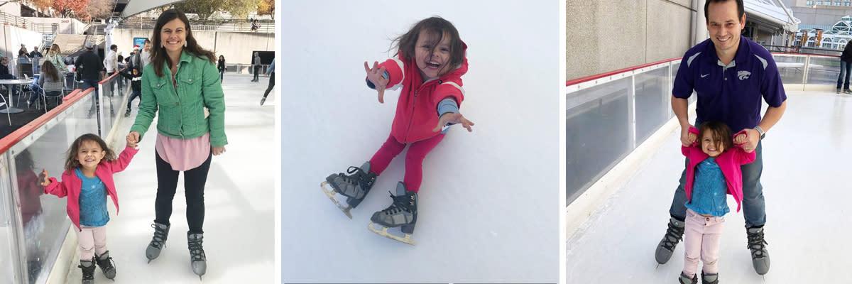 Ice Skating at Crown Center KC