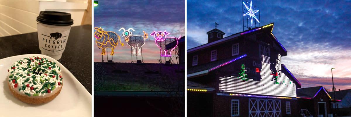 Deanna Rose Holiday Lights Overland Park
