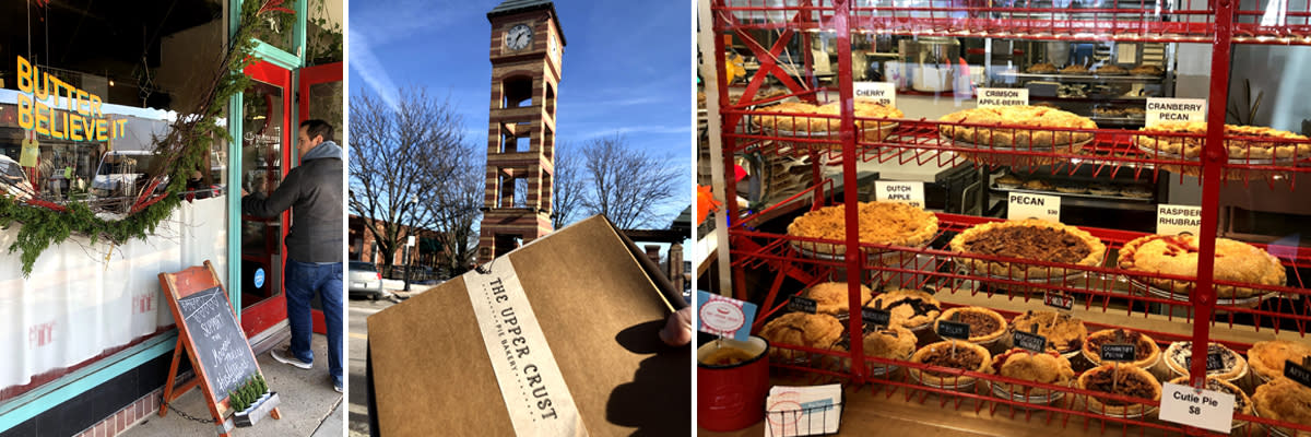 Holiday Pies From The Upper Crust Downtown Overland Park