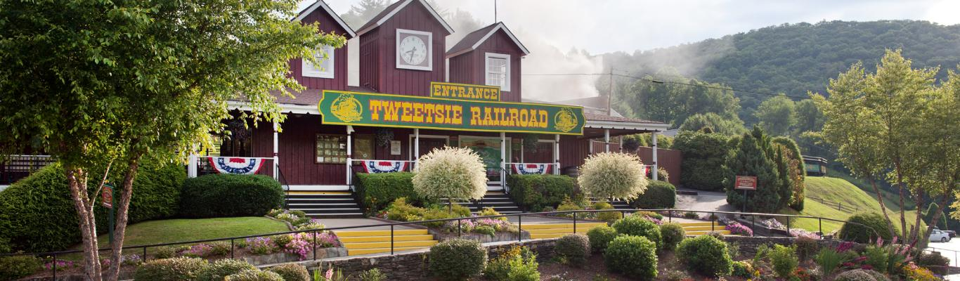 Tweetsie Railroad Entrance