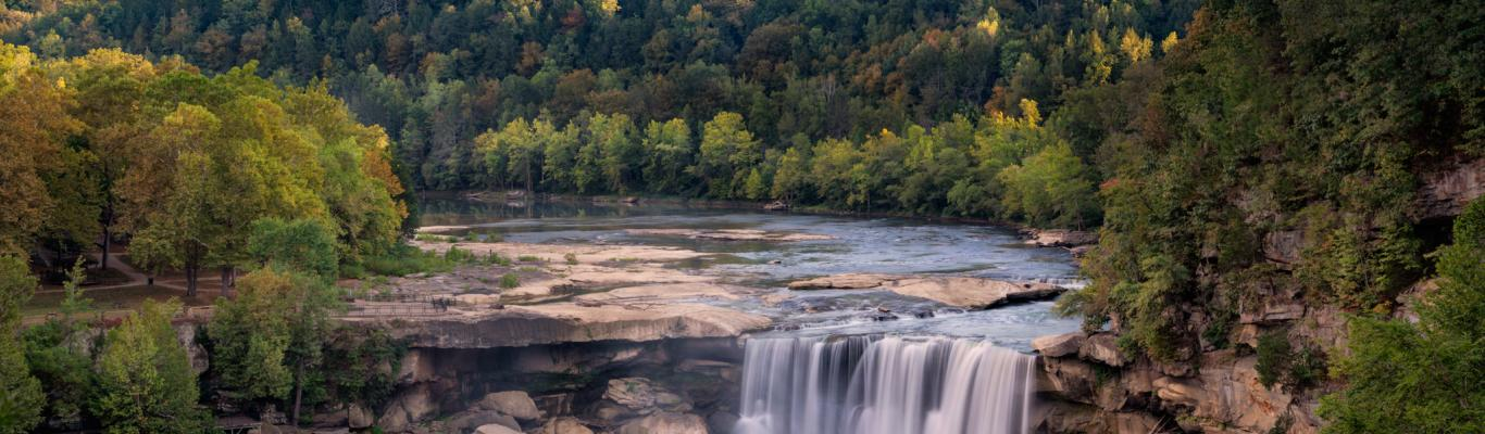 Whitley Co- Cumberland Falls - Whitley and McCreary Counties