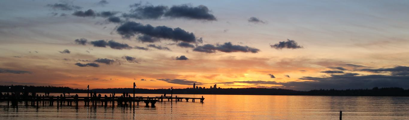 Sunset at Marina Park