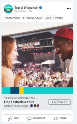 Fall Events Social Ad Mock-up