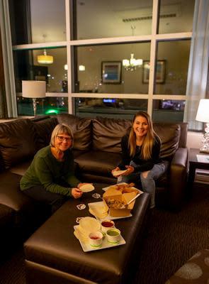 Tacos at hotel