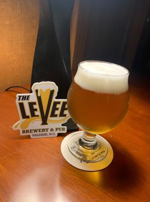 Levee Brewery- Pint & Sticker