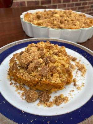 Sweet Potato Casserole by Yono's