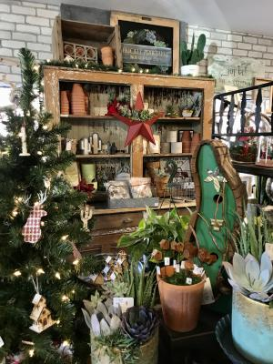Prickly Pear Farm merchandise display at the Foundry Cooperative