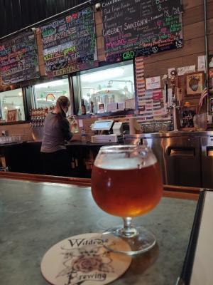 Beer at Wildrose Brewery - Christine Olson