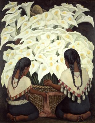 Frida Kahlo exhibition, Diego Rivera, at Denver Art Museum