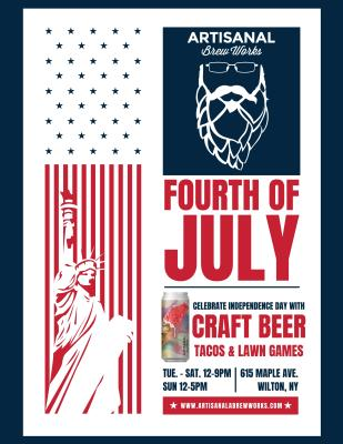 Artisanal Brew Works 4th of July