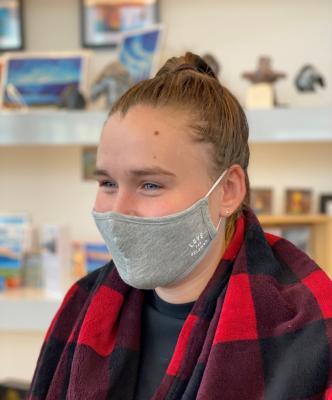 Love for Kelowna Athletic Grey Mask