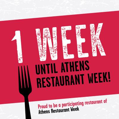 Restaurant Week social post partner countdown 1 week