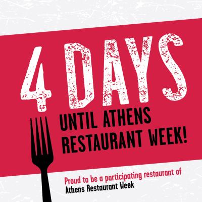 Restaurant Week social post partner countdown 4 days