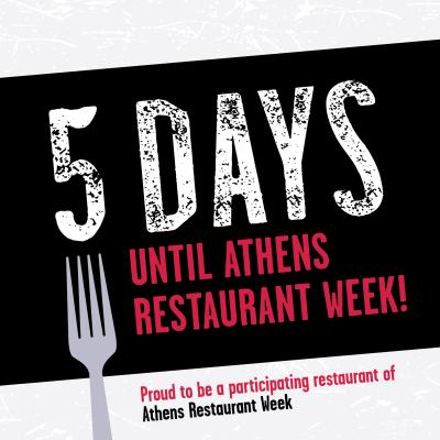 Restaurant Week social post partner countdown 5 days