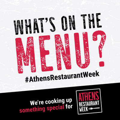 Restaurant Week social post partner menu